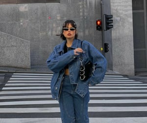 blue, cool, and denim image