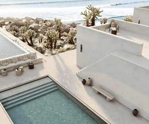 beach, architecture, and beautiful image