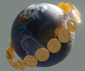 digital cryptocurrency image