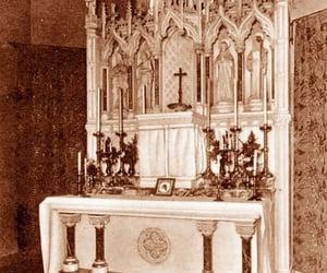 altar, Catholic, and mass image