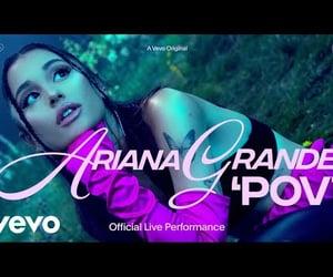 video and ariane grande image