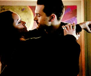 couple, happiness, and the vampire diaries image