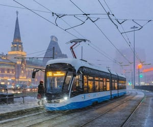 moscow, russia, and snow image
