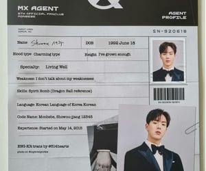 profile, kpop, and shownu image