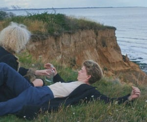 alcohol, couple, and sea image