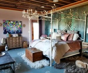 bedroom, decoracion, and love deco image