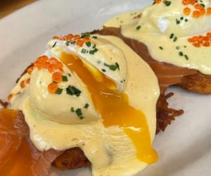 """Don't Expect Salads on Instagram: """"Eggs Benedict with lox on a latke? Sign me up"""