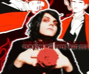 aesthetic, gee, and gerard way image