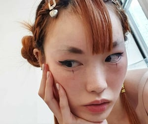 asian, makeup, and model image