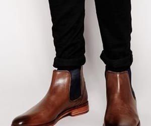 boots, brown, and zapatos image