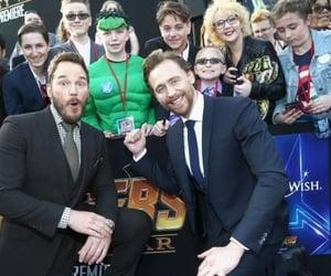 Avengers, chris pratt, and tom hiddleston image