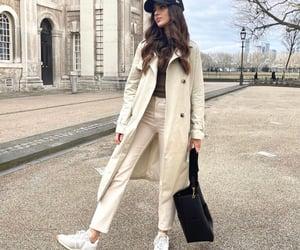 blogger, coat, and luxury image