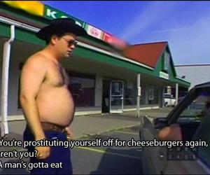 cheeseburger, funny, and lol image