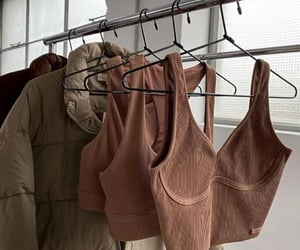 brown, clothes, and design image