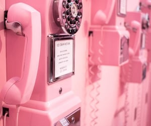 phone, rosa, and pink image