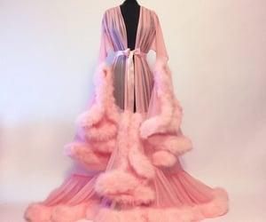 dress, pink, and rosa image