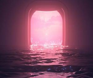 pink, rosa, and wallpaper image
