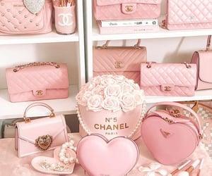 chanel, pastel, and rosado image