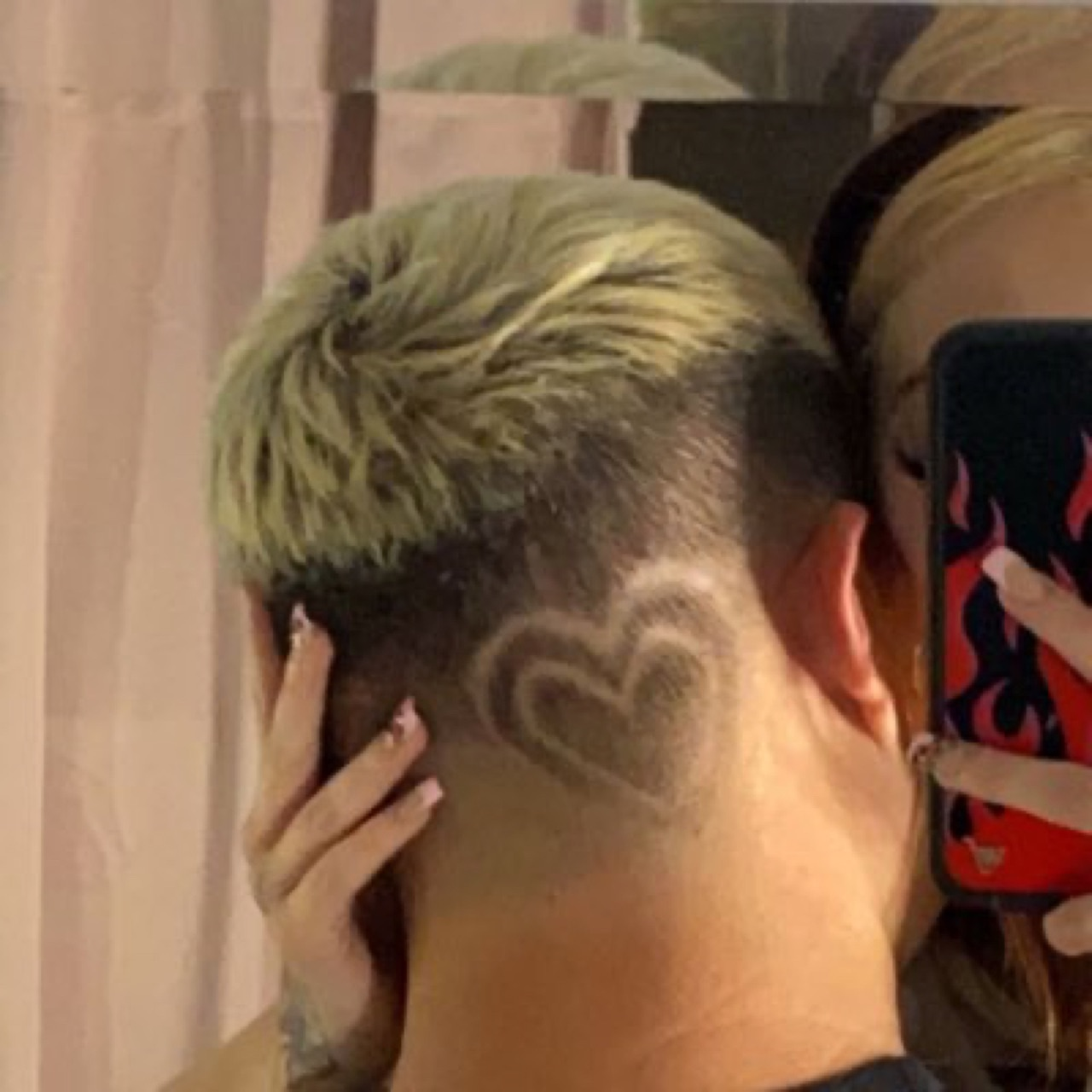 bae, hairstyle, and heart image
