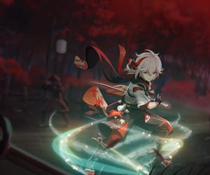 kazuha and genshin impact image