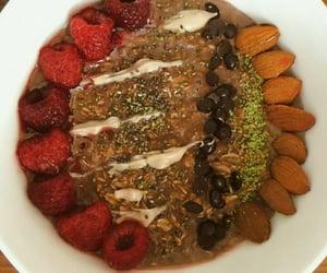 chocolate, yulaf, and oatbowl image