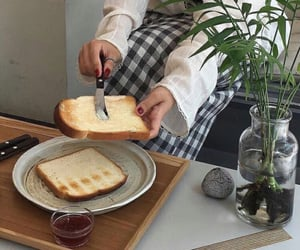 aesthetic and toast image