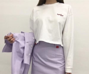 blazer, clothes, and lilac image