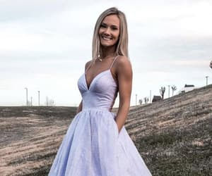 shiny formal dress image
