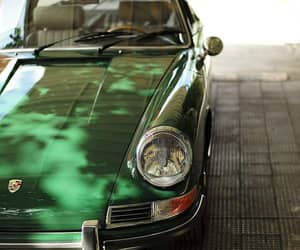 automobiles and green image