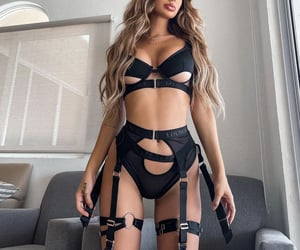 Hot, lace, and stockings image
