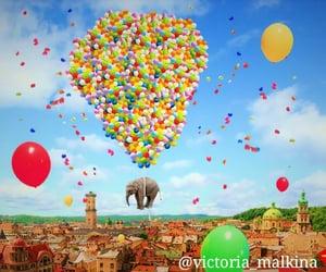 air balloons, artist, and artsy image