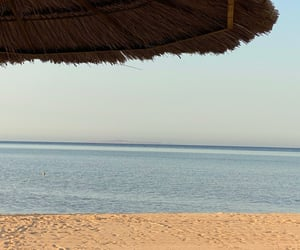 beach, egypt, and landscape image