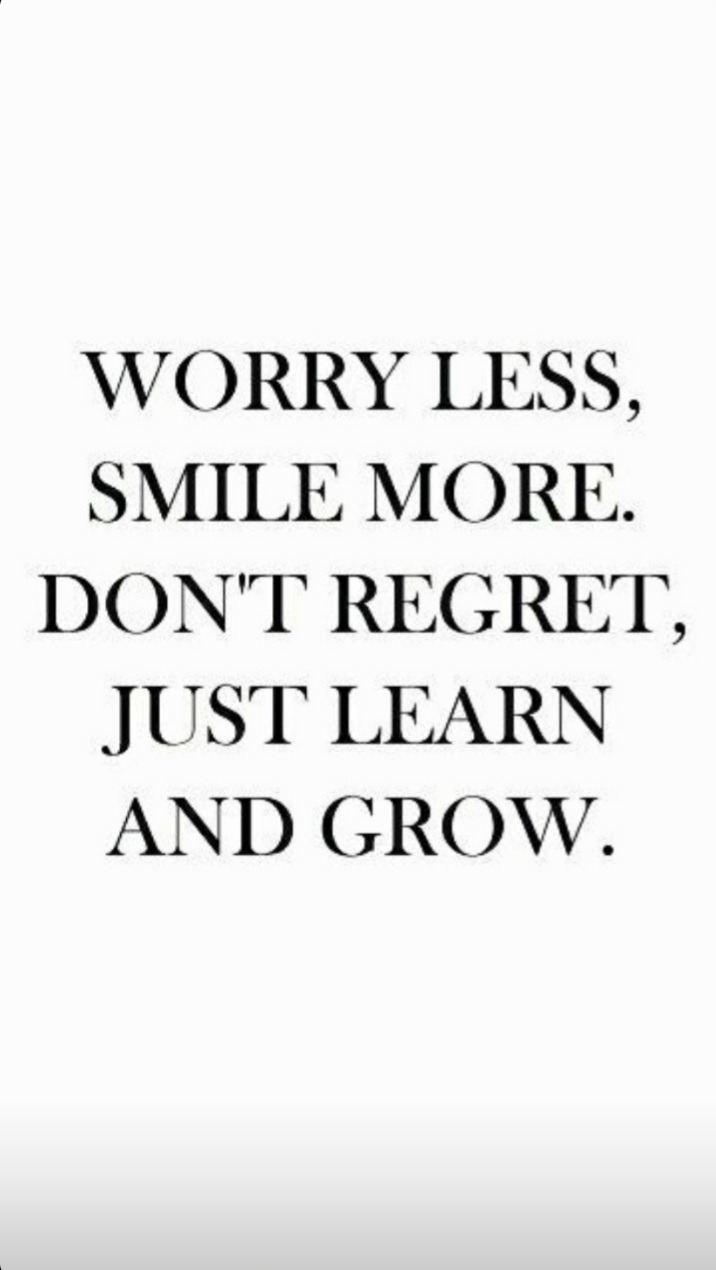 quotes, smile, and worry image
