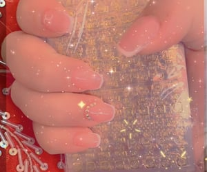 glam, gel nails, and channel image