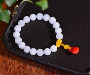 charm bracelet, etsy, and bead bracelet image