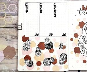 agenda, matrioska, and planner image