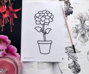 art, greeting card, and printable image