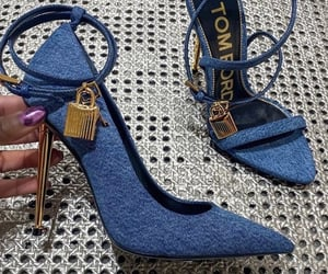 shoes, tom ford, and blue image