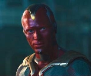 jarvis, the vision, and Marvel image