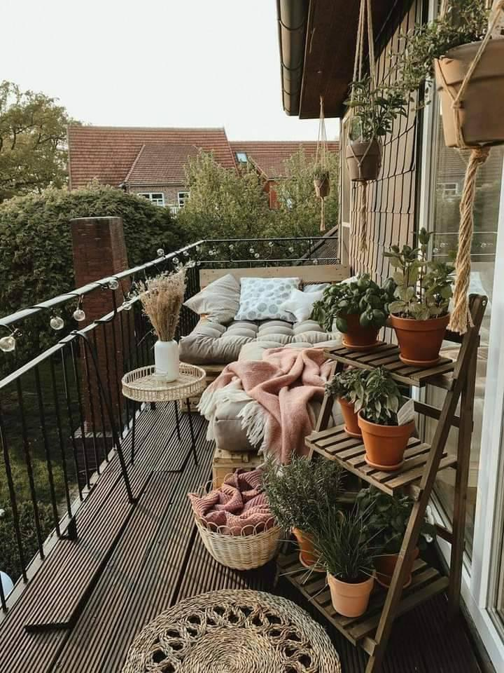 chilling, plants, and hygge image