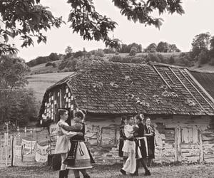 b&w, dancing, and traditions image
