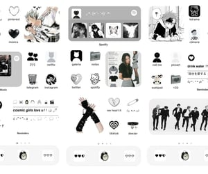 aesthetic, android, and black image