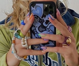 accessories, jewelry, and nails image