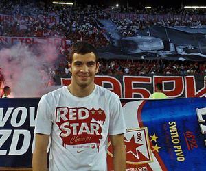 red star belgrade, crvena zvezda, and luka miivojevic :)) image