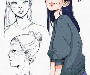 art, character, and drawing image