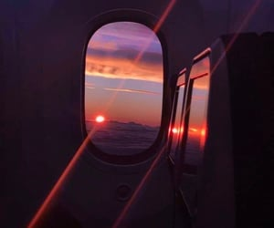 travel, sunset, and aesthetic image