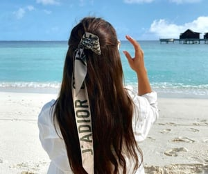 Christian Dior, ocean, and travel image