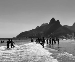 beach, italy, and copacabana image