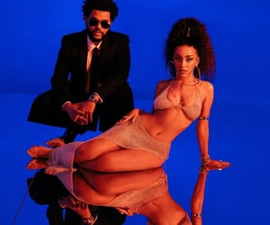 the weeknd, doja cat, and abel image