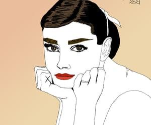 actress, arte, and audrey hepburn image